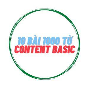10 bài Content Basic 1000 từ